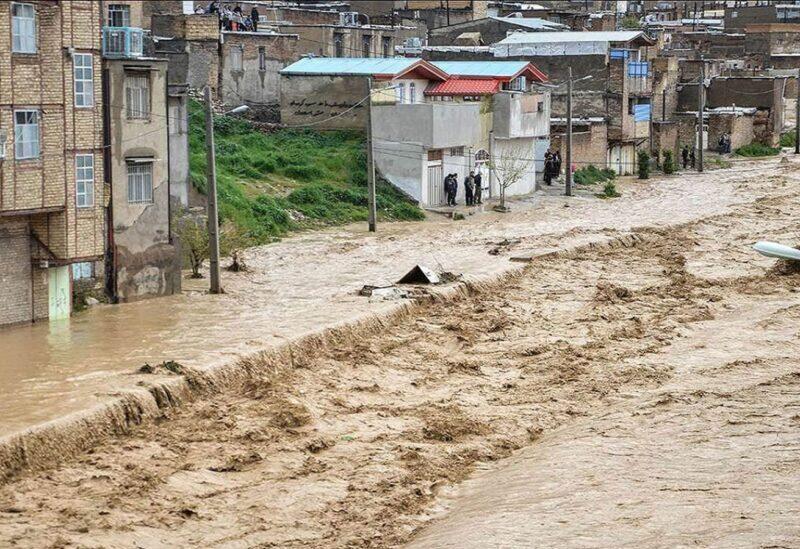 Des inondations en Iran