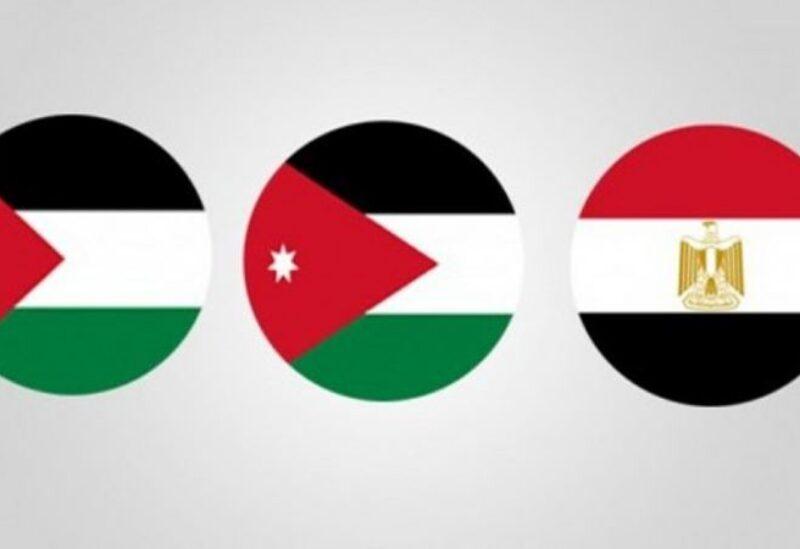 Sommet palestino-égyptien-jordanien