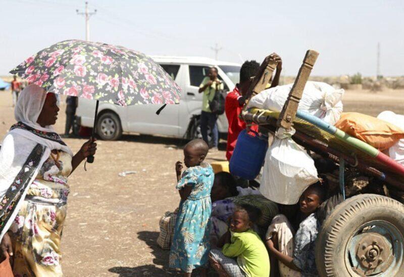 Des réfugiés de la région du Tigré