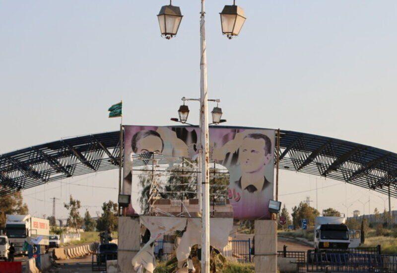 Passage de Nassib à la frontière syro-jordanienne
