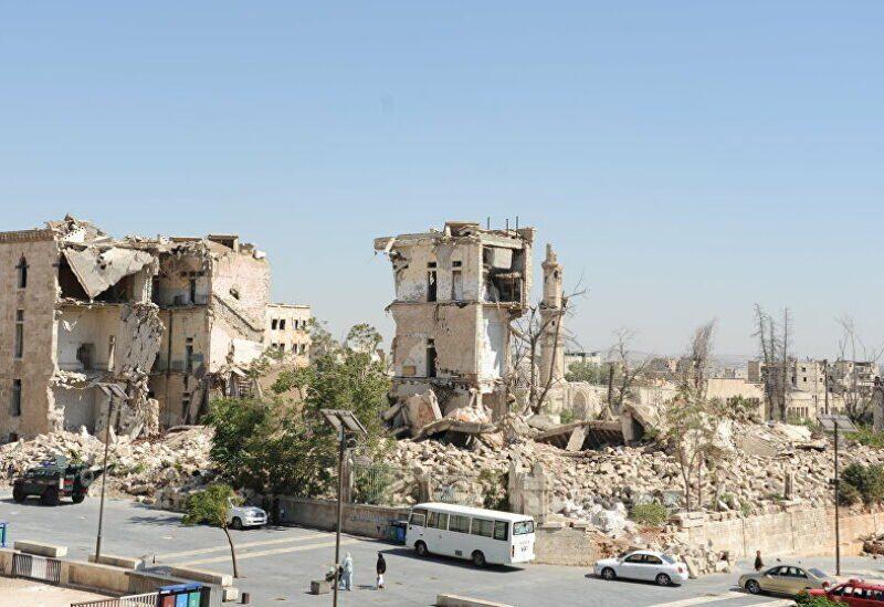 Région d'Azaz, nord de la Syrie