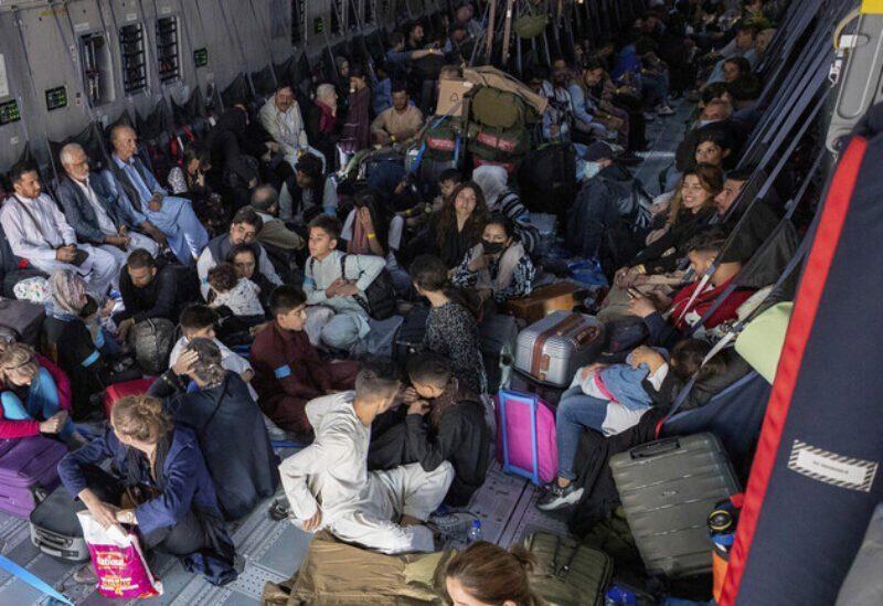 Les évacuations à l'aéroport de Kaboul