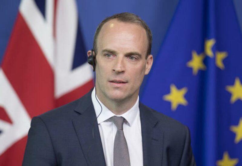 Le ministre britannique des Affaires étrangères Dominic Raab