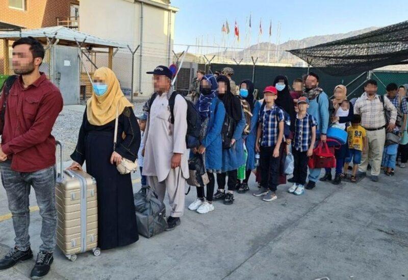 L'évacuation d'Afghans de l'aéroport d'Islamabad vers Séoul