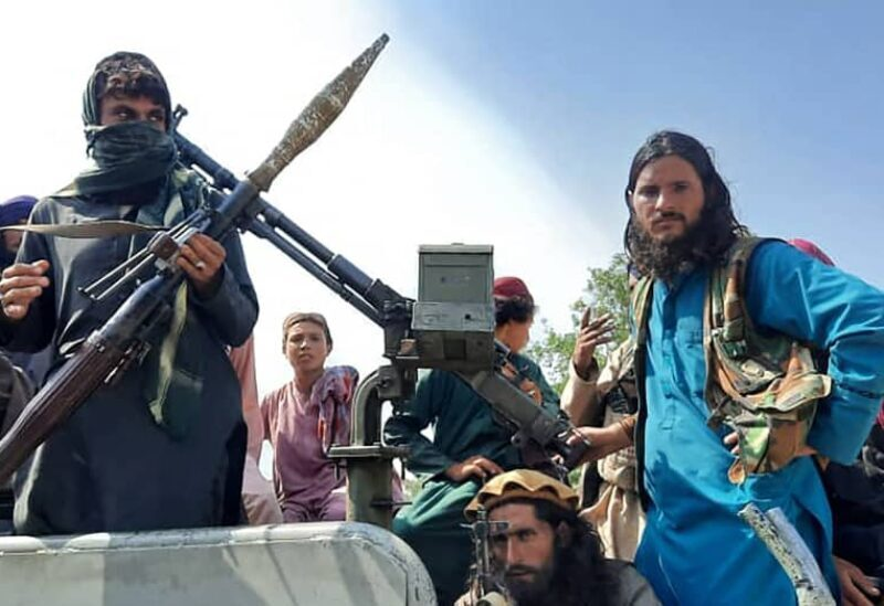 Les combattants des Talibans