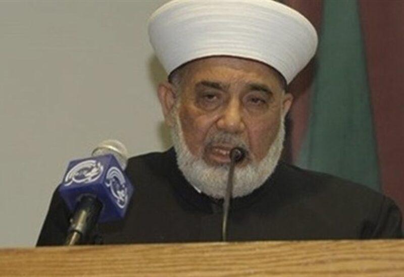 Le Grand Mufti du Mont Liban Cheikh Muhammad Ali Al-Jozo