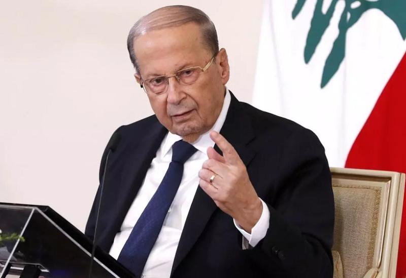 Le Président Michel Aoun