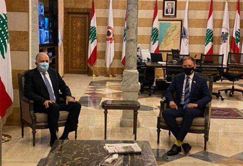 Ministre de l'Intérieur et nouvel ambassadeur britannique