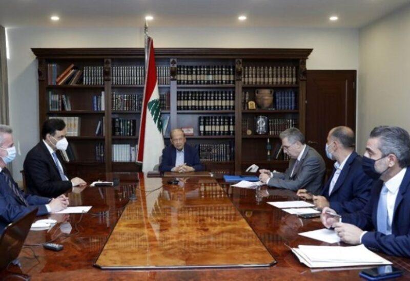 La réunion du palais de Baabda sur la crise du carburant