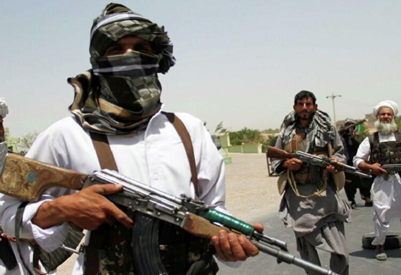 Des éléments des talibans