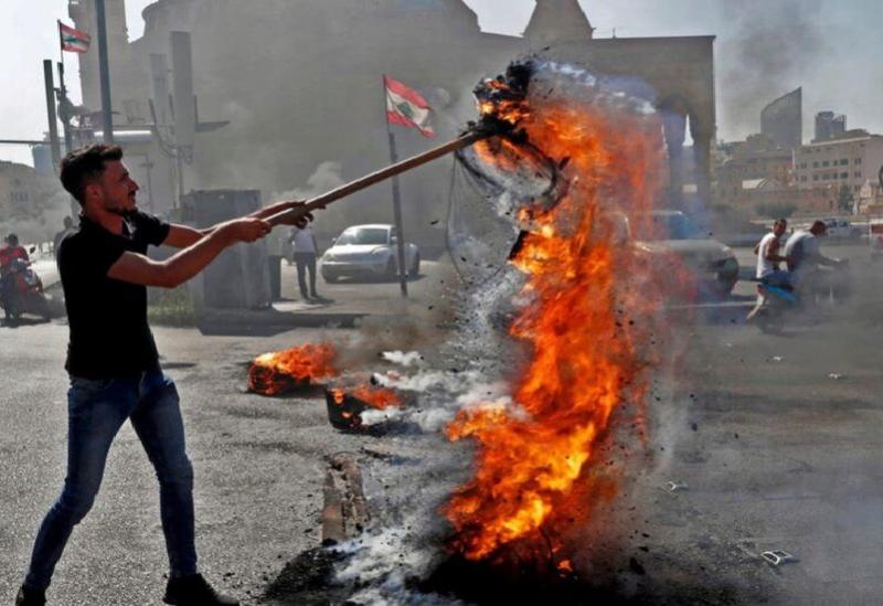 Des manifestations au liban