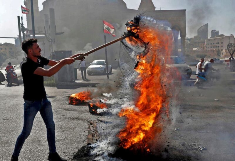 Protestations au Liban
