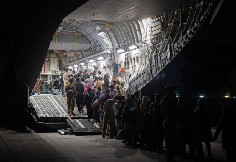 Évacuation de l'aéroport international Hamid Karzai à Kaboul