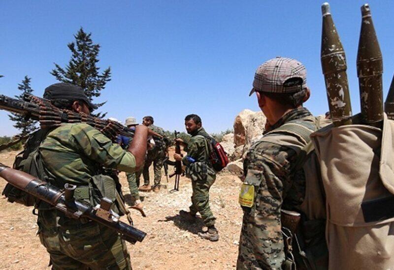 Forces kurdes dans le nord de la Syrie