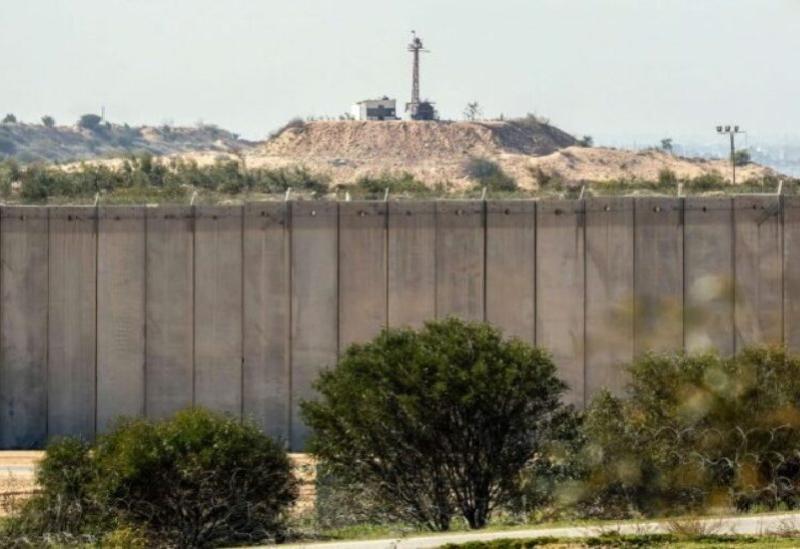 Les frontières de la bande de Gaza