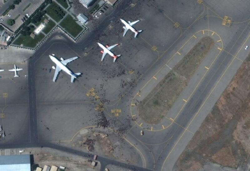 L'Aéroport de Kaboul en AfghanistanL'Aéroport de Kaboul en Afghanistan