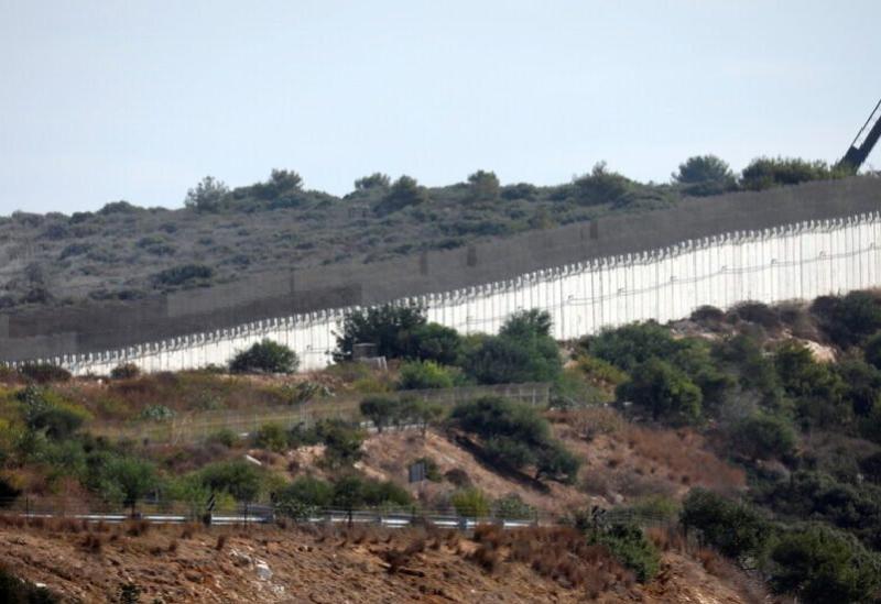 La frontière libanaise avec les territoires occupés