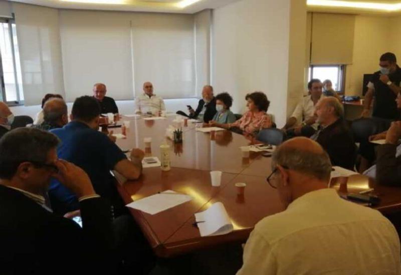 La rencontre de Saydet Al-Jabal- Les archives