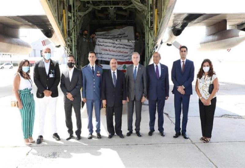 L'aide jordanienne arrive