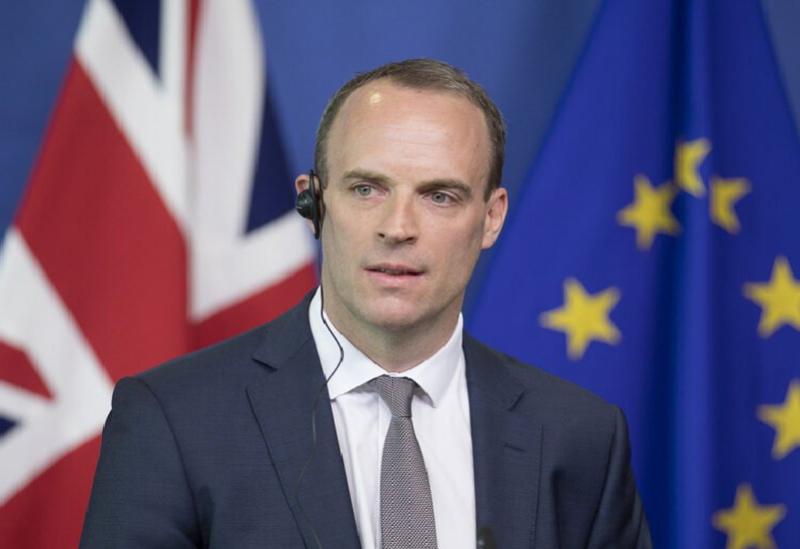Le ministre britannique des Affaires étrangères
