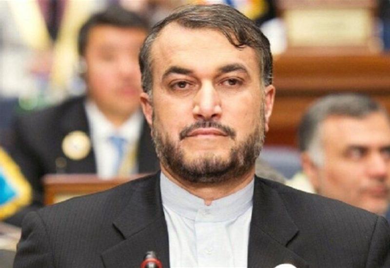 Le ministre iranien des Affaires étrangères Hossein Amir Abdollahian