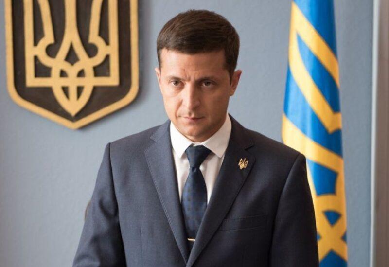 Le président ukrainien Vladimir Zelensky