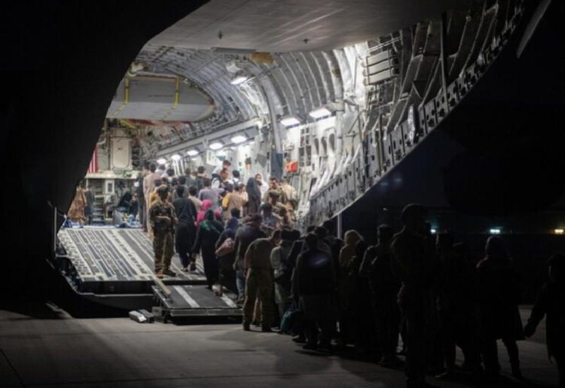Le processus d'évacuation de l'aéroport de Kaboul