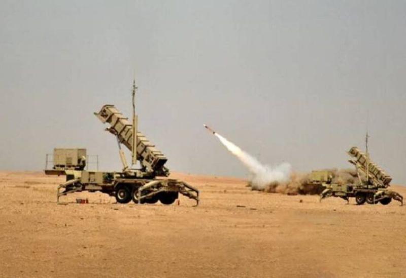 Les défenses aériennes de la coalition arabe