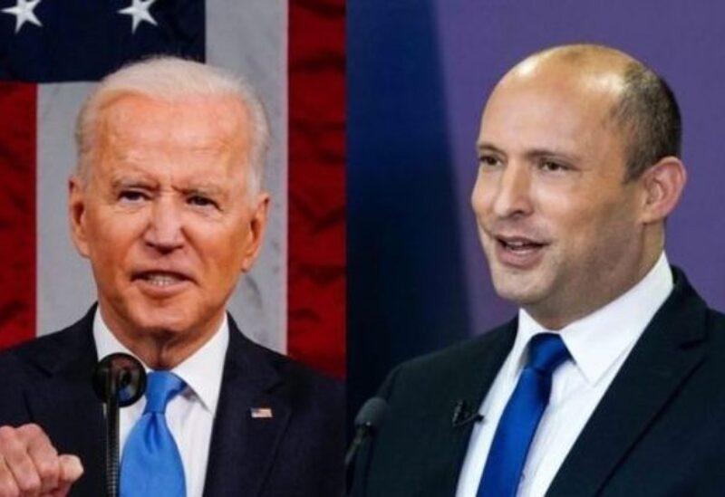 Naftali Benett et Joe Biden