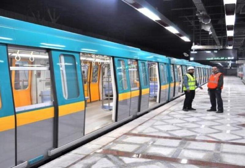 Un métro en Egypte - archives