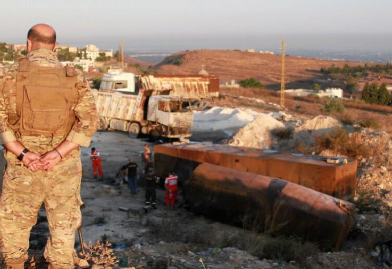 Un pétrolier a explosé dans la région de Tlel à Akkar