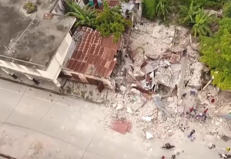 Les dégâts du tremblement de terre en Haïti