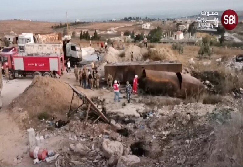 Explosion d'un camion-citerne de carburant au Akkar