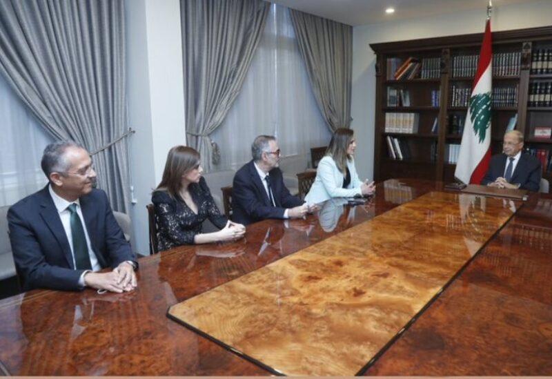 Rencontre au Palais présidentiel