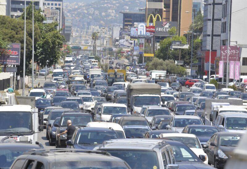 Les files d'attente humiliantes au Liban