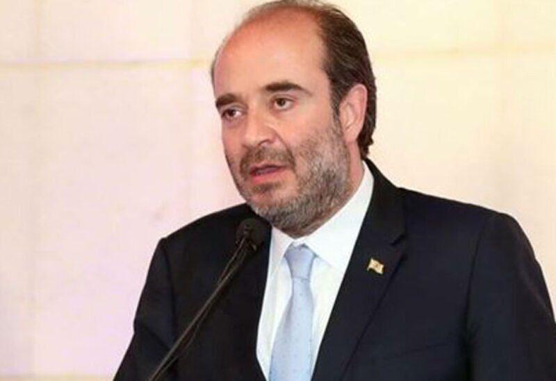 Le député George Okais