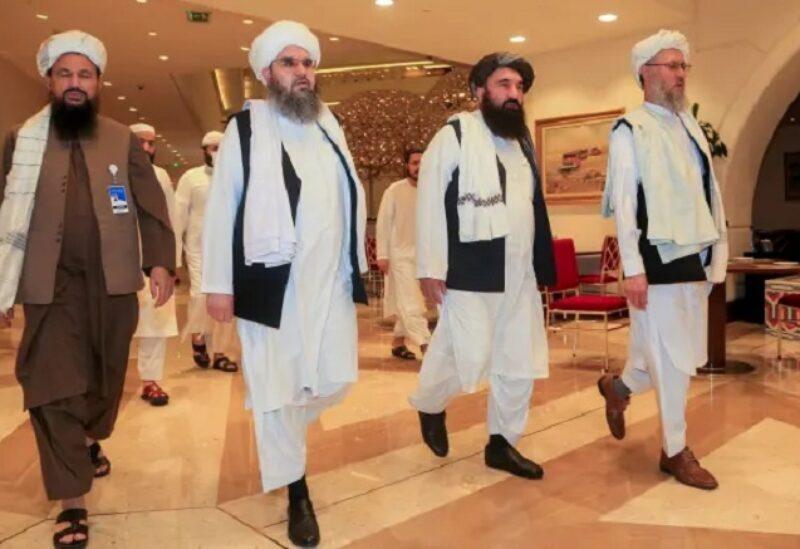 Les chefs des groupes talibans