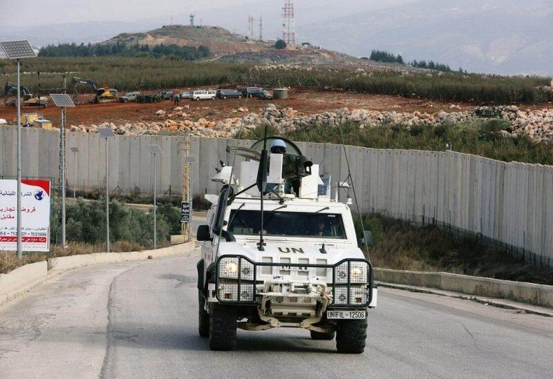 Les forces de la FINUL au Liban