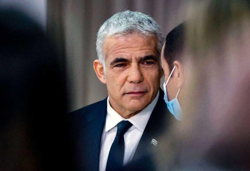 Le ministre israélien des Affaires étrangères Yair Lapid