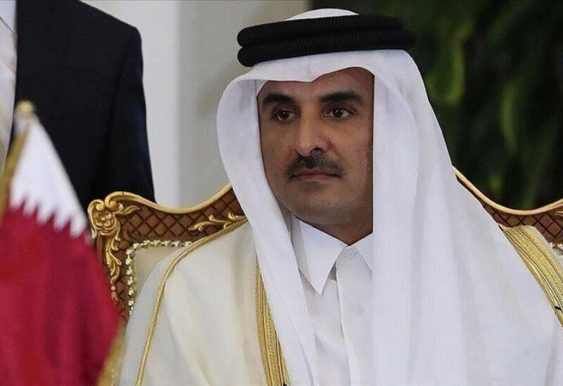 Le cheikh Tamim bin Hamad Al Thani, émir du Qatar