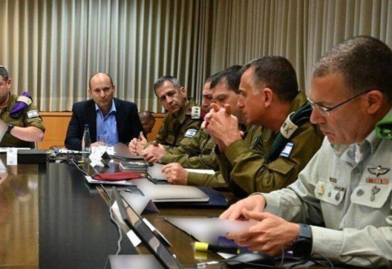Une réunion sécuritaire présidée par Bennett