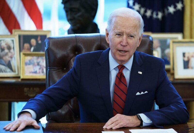 Le président des États-Unis, Joe Biden