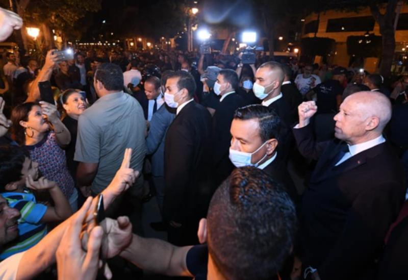 Le président de la Tunisie, Kaïs Saïed