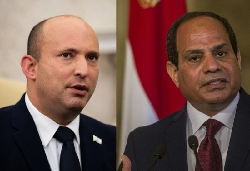 Al-Sisi et Bennett