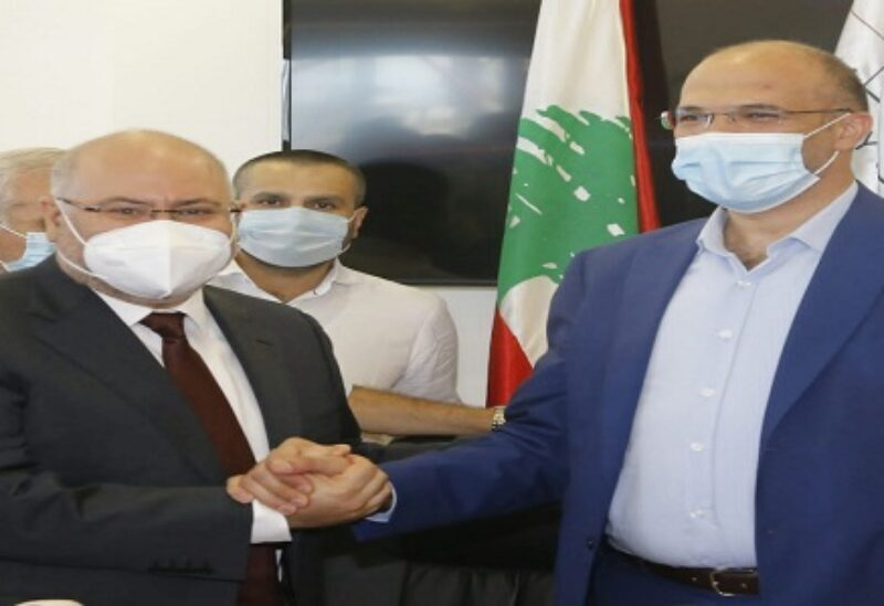 Hamad Hassan et Firas Al-Abyad