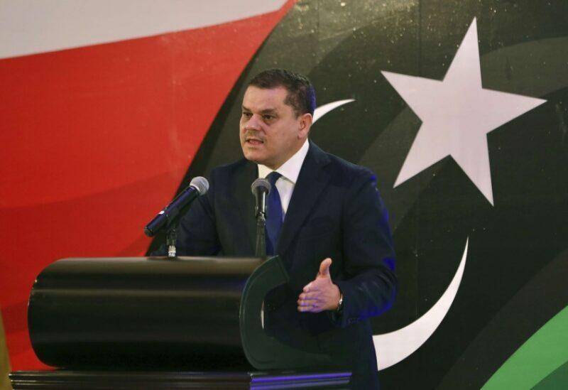 Le premier ministre libyen Abdul Hamid Al-Dabaiba