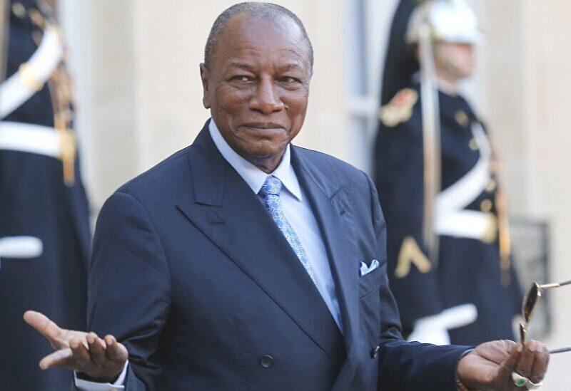 Le président de la Guinée, Alpha Condé