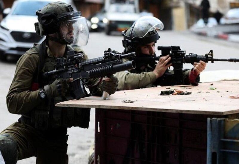 Des membres de l'armée israélienne