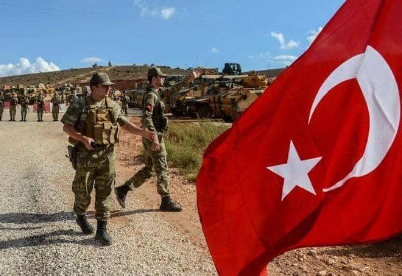 Des membres de l'armée turque - Archive