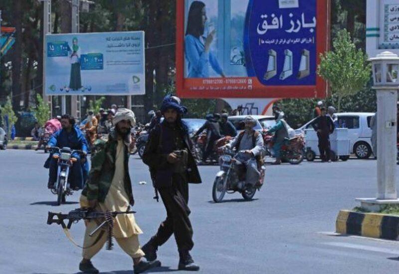 Des membres des Talibans